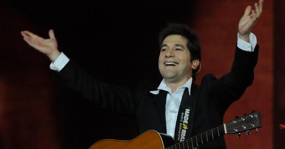 Cantor Daniel se apresenta no quarto dia da 57ª edição da Festa do Peão de Barretos, no interior paulista. O evento acontece até o dia 26 de agosto (19/8/12)