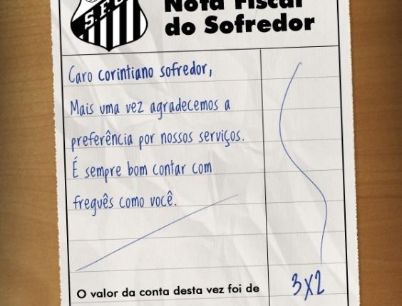 Corneta FC: Compartilhe a nota fiscal do corintiano sofredor