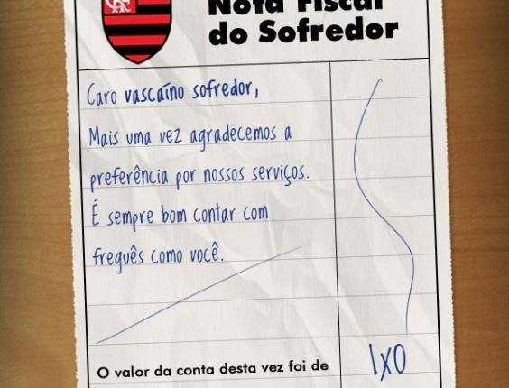 Corneta FC: Compartilhe a nota fiscal do vascaíno sofredor