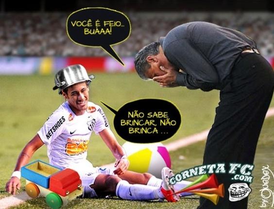 Corneta FC: Tite ficou chateado com o Neymar