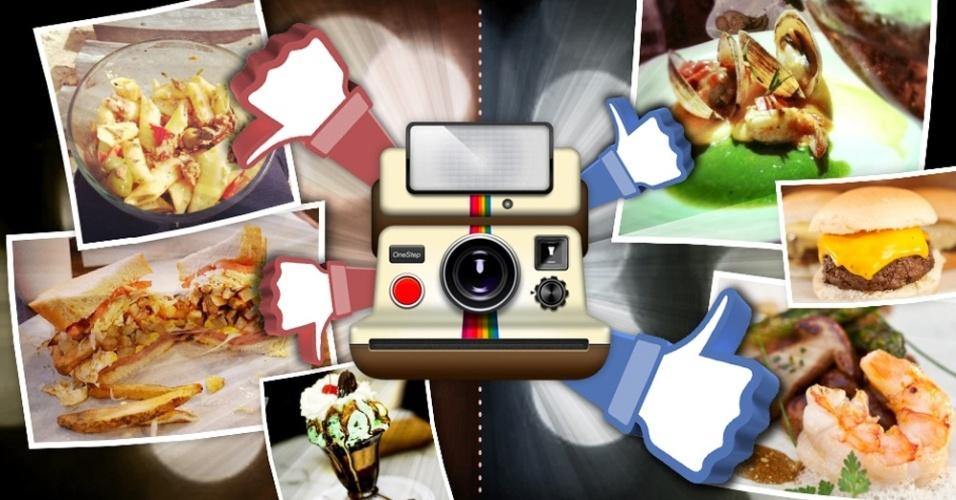 Dicas de fotógrafos para imagens de comida em redes sociais (Instagram)