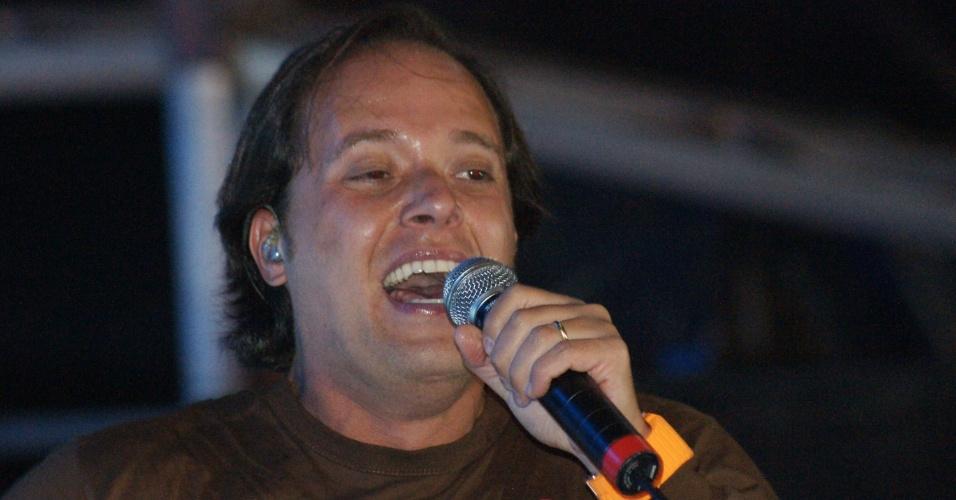 O cantor gospel André Valadão se apresenta na 57ª edição da Festa do Peão de Barretos, no interior paulista. O evento acontece até o dia 26 de agosto (20/8/2012)