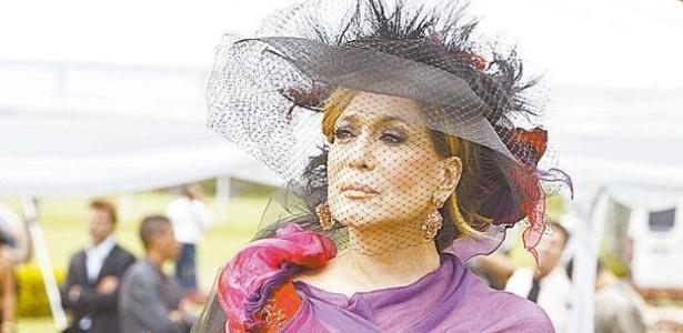 A atriz Susana Vieira em cena da minissérie