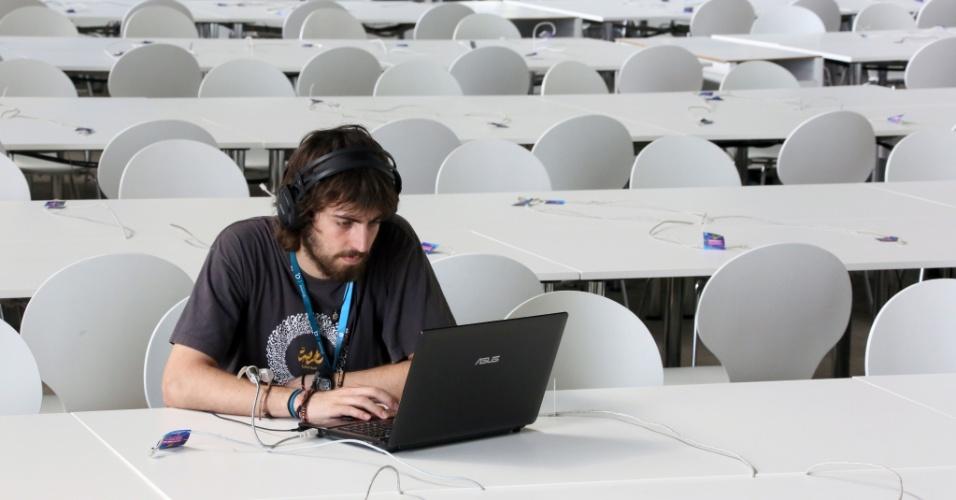A Campus Party, evento que reúne fãs de tecnologia, ganhou sua primeira edição na cidade de Berlim, na Alemanha