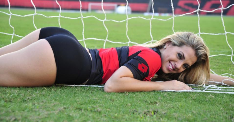 Mariana Rosas, a bela do Sport