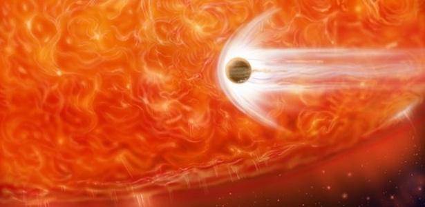Planeta engolido por estrela alimenta hipóteses sobre o fim do mundo