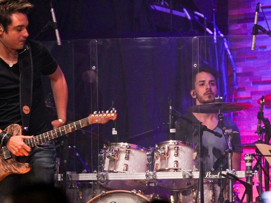 Junior Lima também participou da gravação do CD