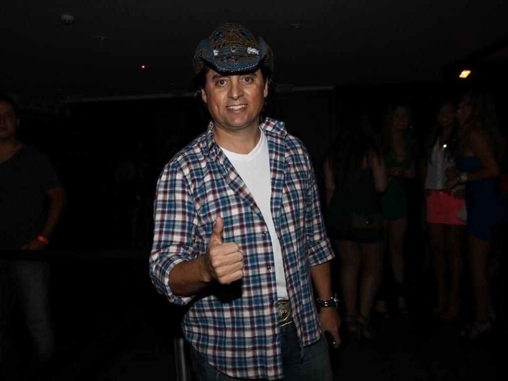 Mauri Lima, irmão da dupla Chitãozinho e Xororó, esteve na gravação do CD ao vivo