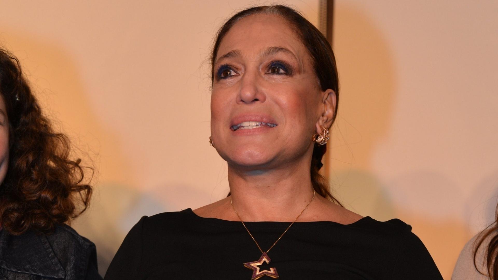 Susana Vieira na leitura dramatizada do texto Polaca! no Rio de Janeiro (18/7/12)