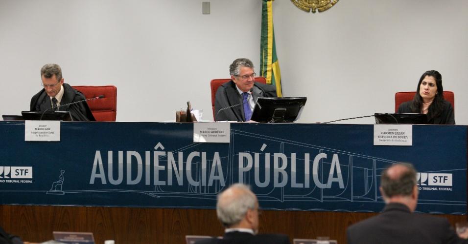 24.ago.2012 - O Supremo Tribunal Federal (STF) realizou nesta sexta-feira (24) uma audiência pública para debater com especialistas de diversos setores a utilização do amianto na indústria brasileira