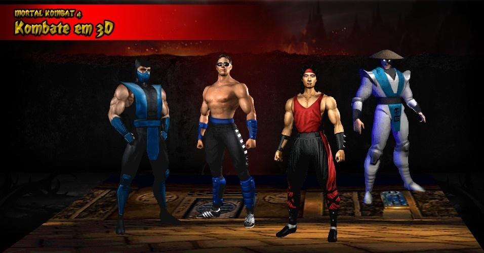 Com os personagens em 3D, os atores ganharam novos papéis: em vez de emprestar sua imagem, fazem os movimentos e expressões corporais dos lutadores