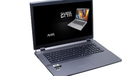 Com tela de 17 polegadas, notebook da Avell é um dos melhores do mercado