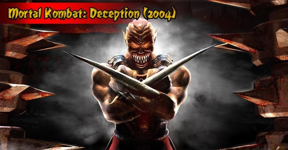 """Em """"Deception"""", a aliança entre Shang Tsung e Quan Chi é desfeita, e Onaga, o Dragão-Rei,  aparece para retomar seu poder. Ele é o grande vilão a ser derrotado"""
