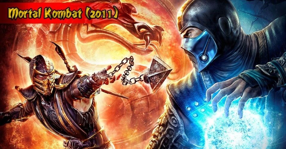 """Intitulado simplesmente """"Mortal Kombat"""", o game de 2011 foi uma volta às origens, à época da violência crua. Com uma mecânica de jogo mais refinada, tornou-se a experiência definitiva de """"Mortal Kombat"""""""