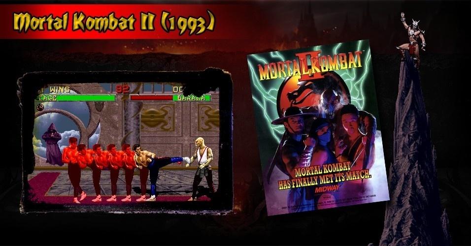 """""""Mortal Kombat"""" foi um grande sucesso e a continuação foi cercada de expectativas. E não decepcionou: """"Mortal Kombat II"""" é aclamado por crítica e público"""
