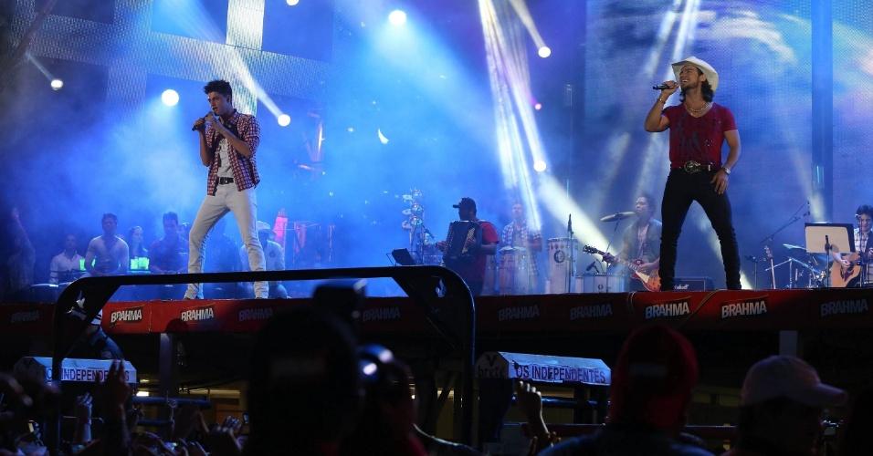 Munhoz e Mariano se apresentam na oitava noite da Festa de Peão de Barretos (23/8/12)