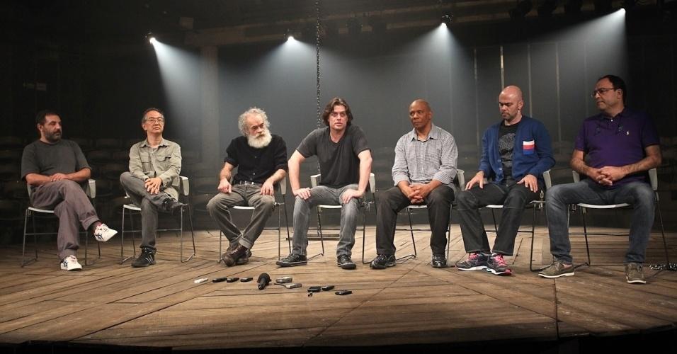 Na imagem, foto da equipe do espetáculo