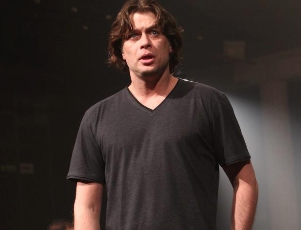 O ator Fábio Assunção participa de evento de lançamento do espetáculo