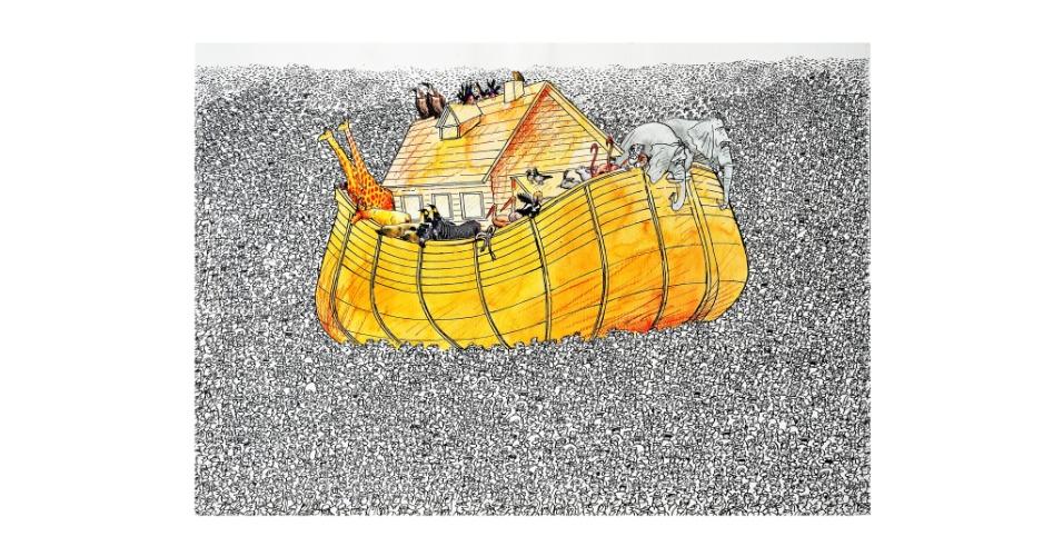 O cartunista romeno Pavel Constantin ganhou Menção na categoria Cartum. Os prêmios do 39º Salão do Humor de Piracicaba foram anunciados neste sábado (25)