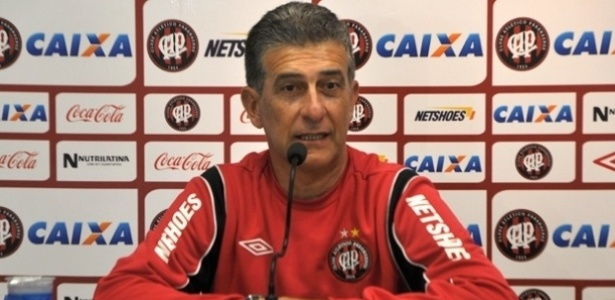 Ricardo Drubscky participa de entrevista coletiva no Atlético-PR