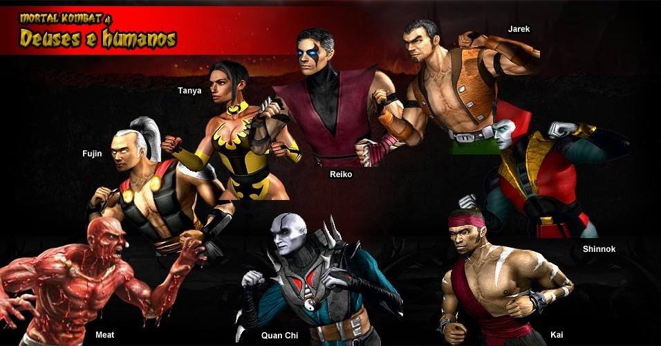 """Shinnok, um dos deuses antigos, e o feiticeiro Quan Chi estrearam quase ao mesmo tempo em """"Mortal Kombat 4"""" e """"Mortal Kombat Mythologies: Sub-Zero"""""""