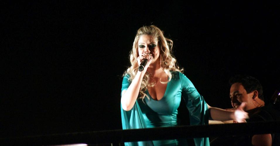 A cantora Maria Cecília se apresentou na 57ª edição da Festa do Peão de Barretos, em São Paulo (26/8/12)