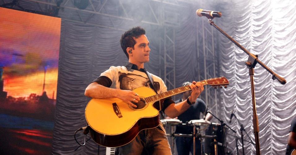 A dupla Diego & Diogo se apresentou na 57ª edição da Festa do Peão de Barretos, em São Paulo (26/8/12)