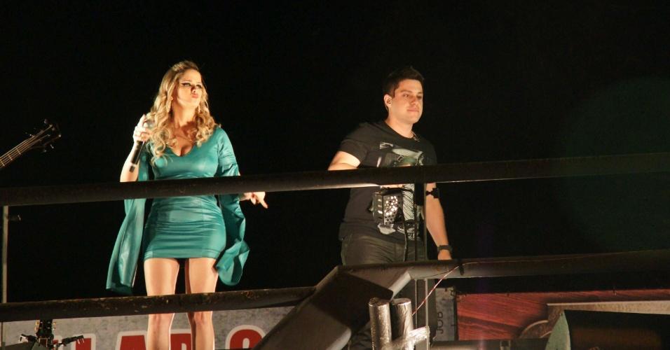 A dupla Maria Cecília & Rodolfo se apresentou na 57ª edição da Festa do Peão de Barretos, em São Paulo (26/8/12)