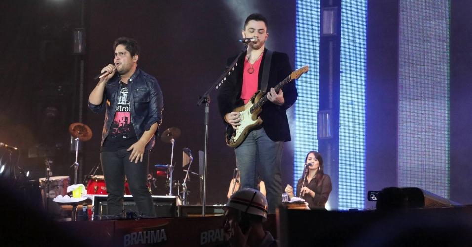 Jorge & Mateus se apresentam na 57ª edição da Festa do Peão de Barretos, em São Paulo (26/8/12)