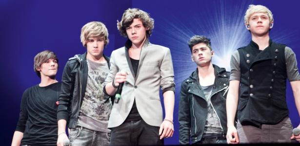 A One Direction faz tanto sucesso que foi at� convidada para cantar no encerramento das Olimp�adas 2012