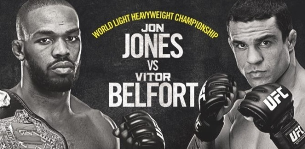 Cartaz do UFC 152, com Jon Jones x Vitor Belfort