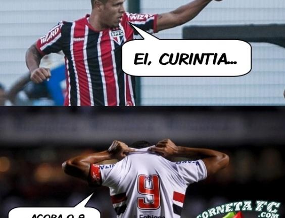 Corneta FC: Luís Fabiano dá um lembrete aos corintianos