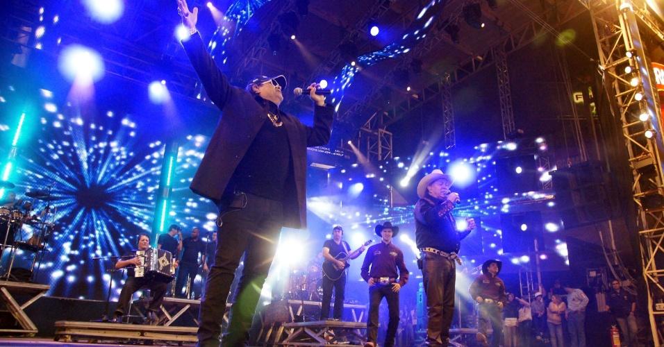Dupla Milionário & José Rico faz show no encerramento da Festa do Peão de Barretos 2012 (26/8/12)