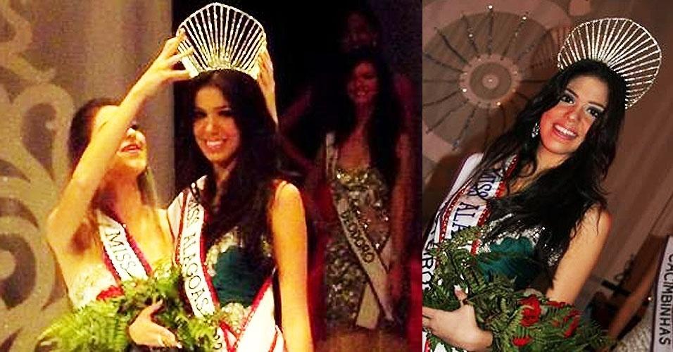 Miss Alagoas, Marina Rijo, 19, 1,84 m, representou Roteiro
