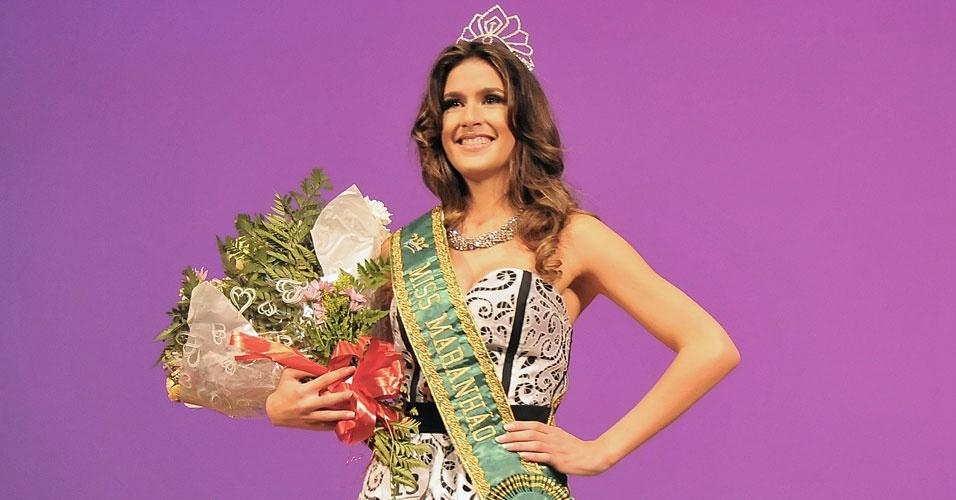 Miss Maranhão, Juliana Cavalcante, 21, 1,76 m, representou São Luis