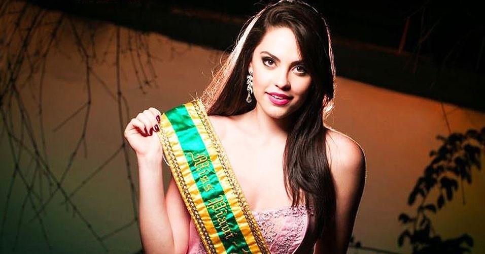 Miss Piauí, Jéssica Camargo, 20, 1,78 m, representou Teresina
