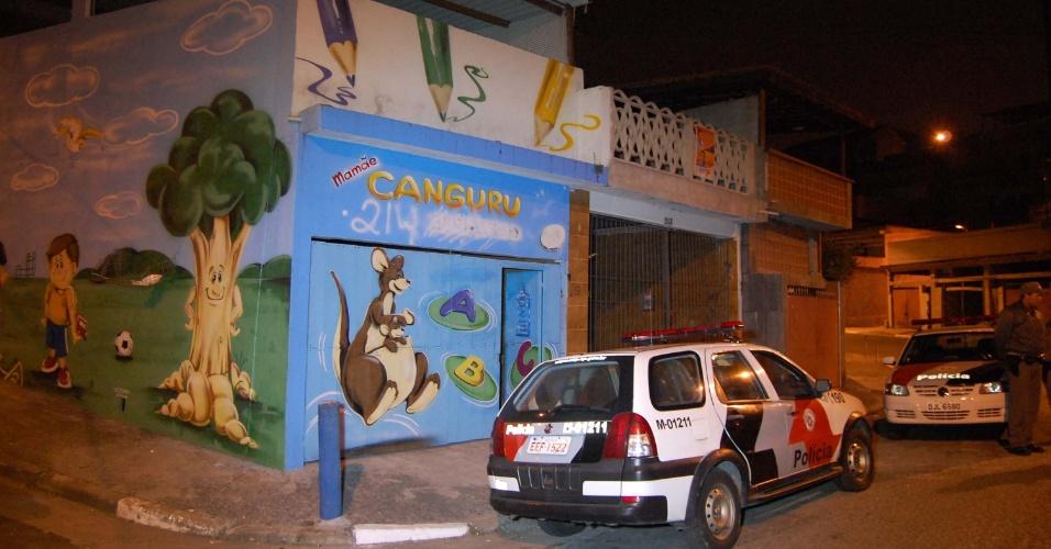 29.ago.2012 - A polícia estourou um bingo após denúncia anônima na noite de terça (28), que funcionava em uma falsa escola de educação infantil na região do Capão Redondo, zona sul de São Paulo