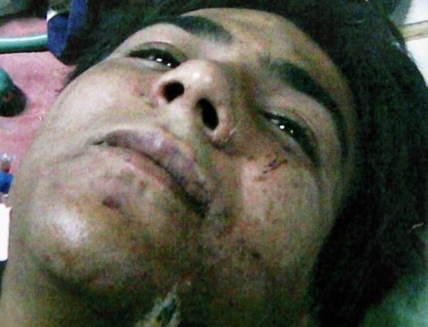 29.ago.2012 - O militante islâmico Mohammed Ajmal Amir Iman foi condenado nesta quarta-feira (29) pela Suprema Corte da Índia à pena de morte. Preso desde 2008, ele é o único acusado ainda vivo que participou dos ataques terroristas a Mumbai em 2008 e que deixou cerca de 200 pessoas mortas
