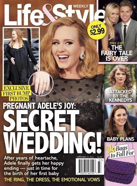 Adele estampa a capa da revista norte-americana