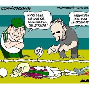 Corneta FC: Técnicos reclamam de cai-cai, mas o choro é livre