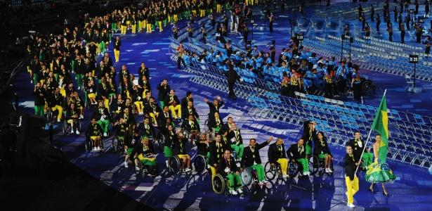 A delegação brasileira superou Pequim e teve desempenho histórico nos Jogos Paraolímpicos de Londres
