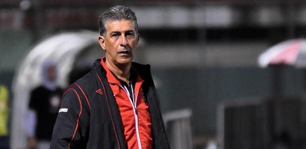 Ricardo Drubscky comanda o Atlético-PR diante do Joinville