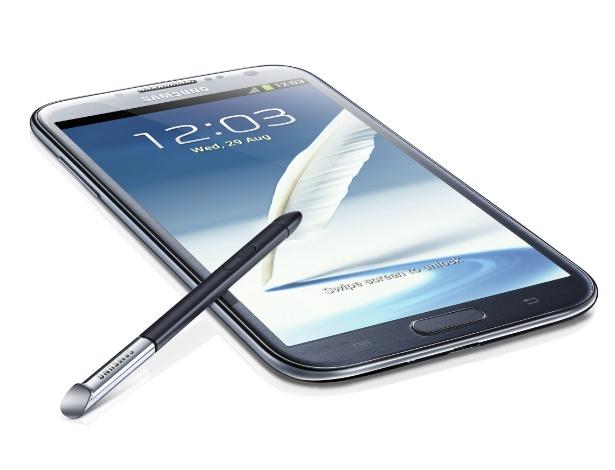 Smartphone Samsung Galaxy Note II foi apresentado durante evento que antecede a IFA 2012, em Berlim