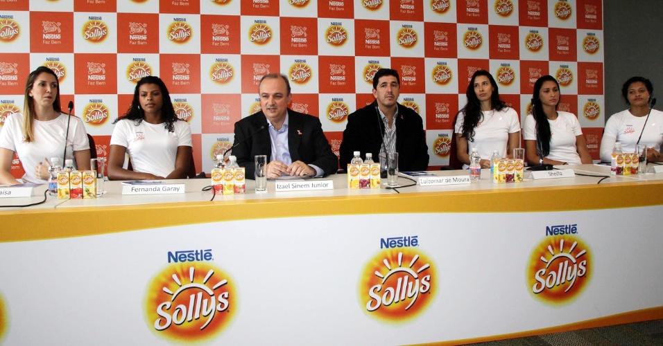 Sollys/Nestlé apresenta time com reforços de Sheilla e Fernanda Garay