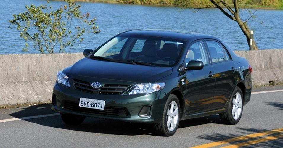 Toyota Corolla: 16.983 unidades. Com redução, parte de R$ 59.080. Dados fechados da Fenabrave de maio à primeira quinzena de agosto de 2012
