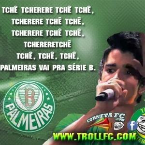 Corneta FC: Gustavo Lima canta sucesso do Palmeiras na Série B