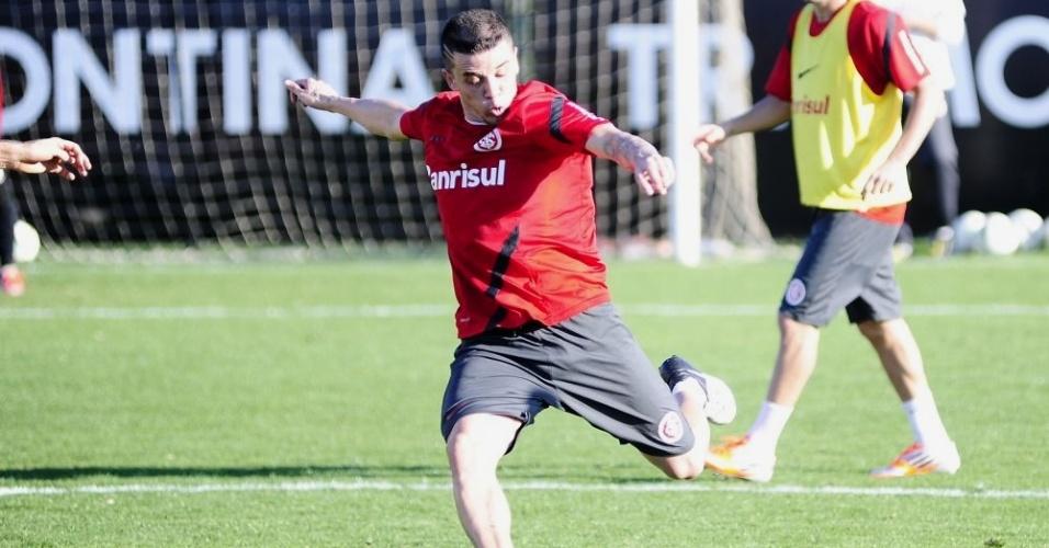 D'Alessandro treina normalmente e deve voltar ao time contra o Flamengo, na 21ª rodada (30/08/12)