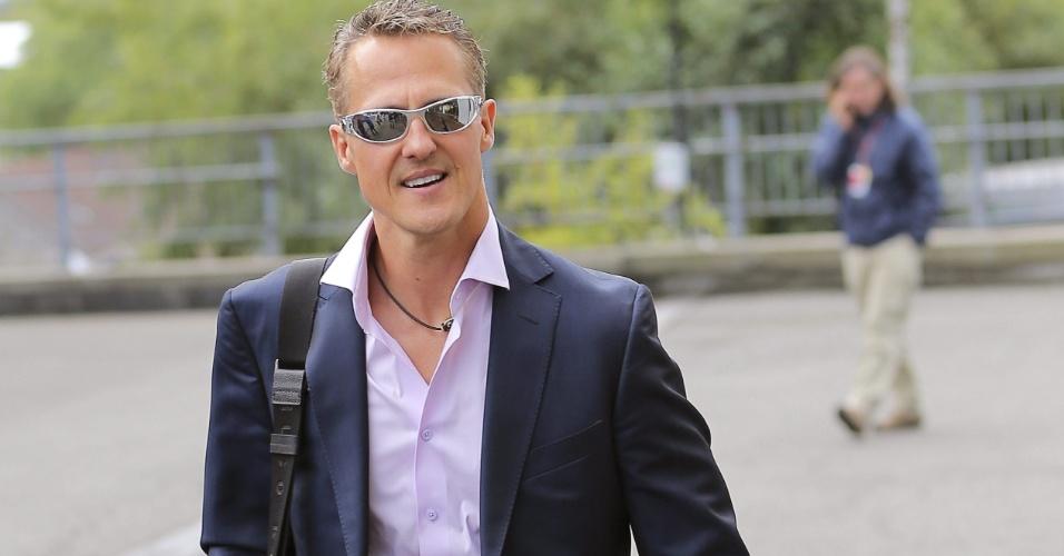 Maior vencedor em Spa, Schumacher chega ao circuito após pausa de um mês no campeonato. Primeiro treino livre acontece nesta sexta-feira