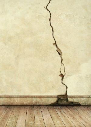 Rachadura de parede