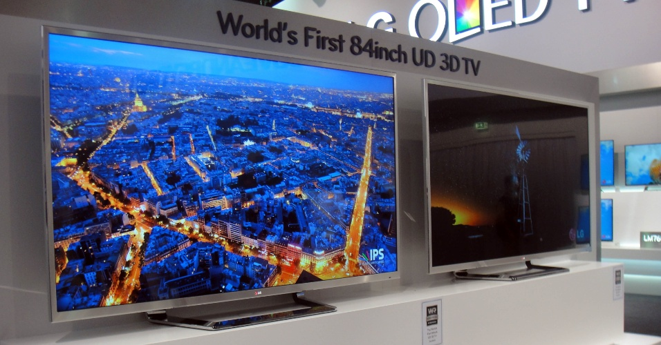 TV 3D UD da LG matéria